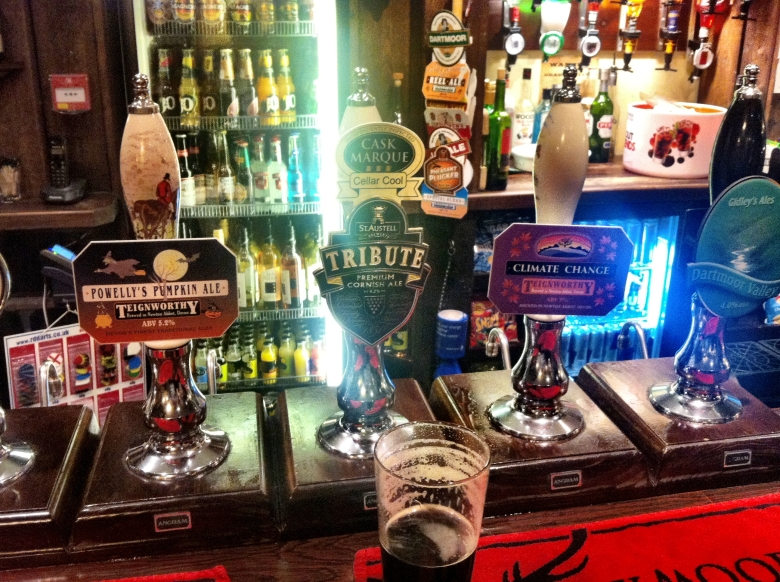 Magnificent selection of beers