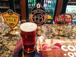 It may be a Fullers pub but is not afraid to have guest beers. I tried the Hackney brew, which was not at all bad.